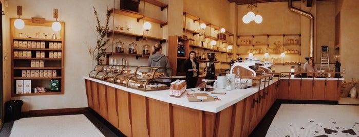 Sightglass Coffee is one of Best Vegan Friendly Restaurants in San Francisco.