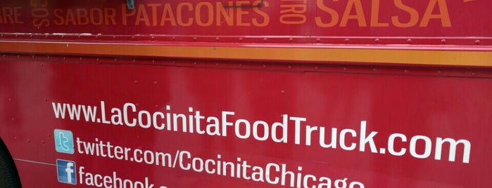 La Cocinita Food Truck is one of Thrillist Chicago Taco Bucket List.