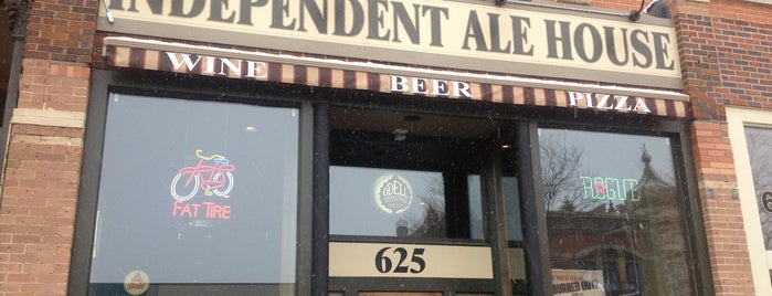 Independent Ale House is one of CraftBeer.com's Best Craft Beer Bar in Every State.