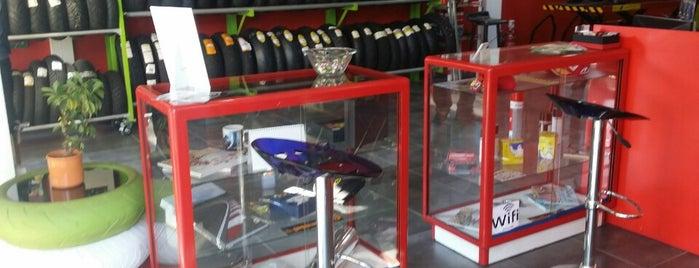 peristeras Tyres Moto is one of สถานที่ที่ J ถูกใจ.