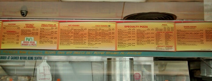 Pat's Cheese Steak Hoagies & Pizza is one of Restaurants to check out.