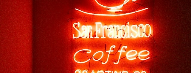 San Francisco Coffee Roasting Co. is one of Bakeries and Cafeterias.
