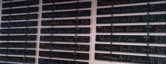 Barrel and Barley Craft Beer Market is one of Tempat yang Disukai Zach.