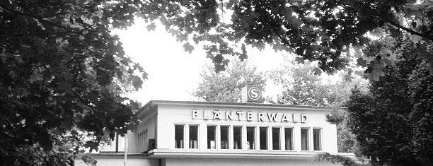 S Plänterwald is one of U & S Bahnen Berlin by. RayJay.