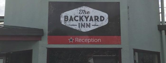 The Backyard Inn is one of Ozzie Kiwi.