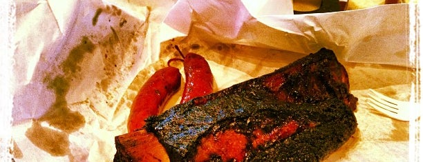 Lockhart Smokehouse is one of Eats I want to try..