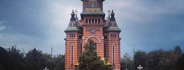 Catedrala Mitropolitană Ortodoxă is one of Timisoara🇷🇴.