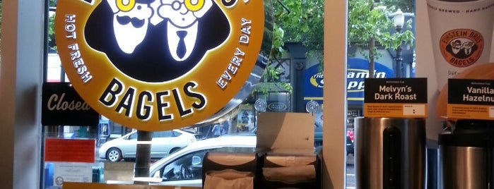 Einstein Bros Bagels is one of PDX.