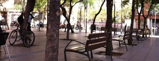 Plaça de John Lennon is one of Bars in Barcelona.