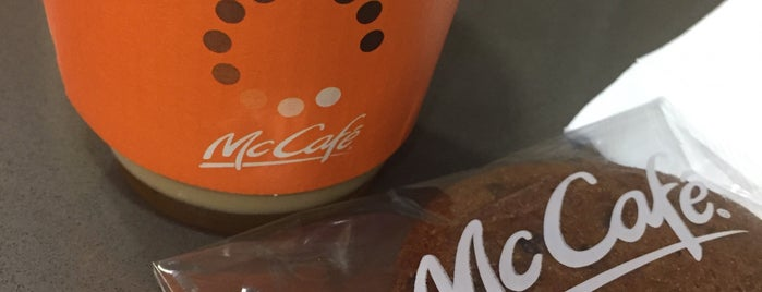 McCafe is one of Ben's list for Coffee and Cafe.