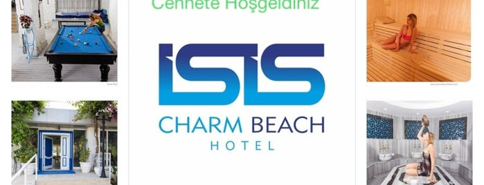 İsis Charm Beach Hotel is one of Lieux qui ont plu à Kenan.