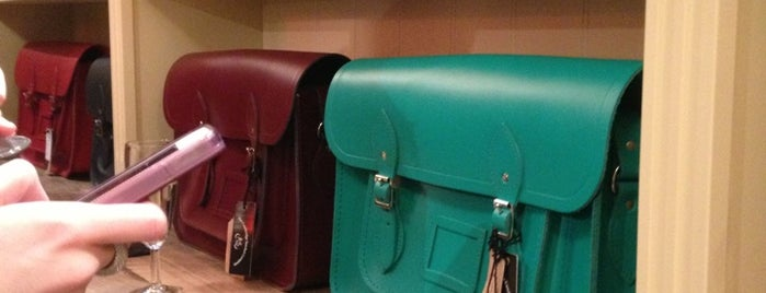 The Cambridge Satchel Company is one of London Town.