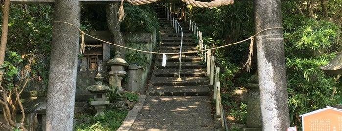 淡島神社 is one of 思い出の場所.