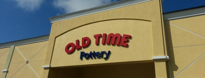 Old Time Pottery is one of Favorite Places.