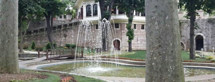Парк Гюльхане is one of Yasemin Arzu: сохраненные места.
