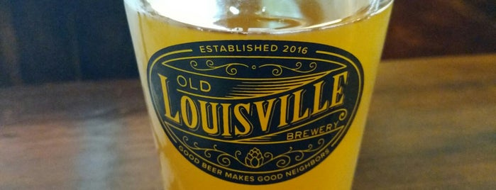 Old Louisville Brewery is one of Boubisville.