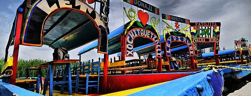 Xochimilco is one of Thigs to do in Mexico city.