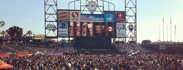 Oracle Park is one of Best Stadiums.