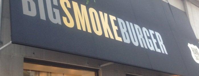 Big Smoke Burger is one of Toronto.