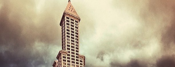 Smith Tower is one of Seattle.
