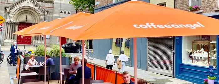Coffeeangel is one of Belfast & Dublin.