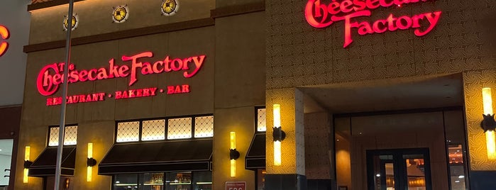 The Cheesecake Factory is one of New York.