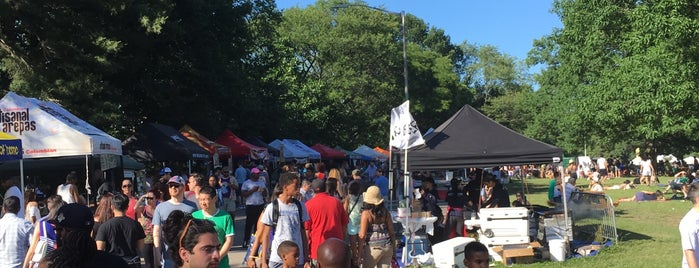 Smorgasburg Prospect Park is one of Kiran visits NY!.
