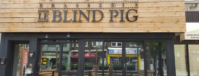 Le Blind Pig is one of Soupers MTL.