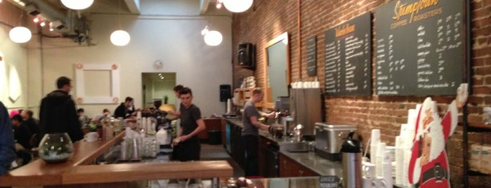 Stumptown Coffee Roasters is one of Orte, die Tim gefallen.