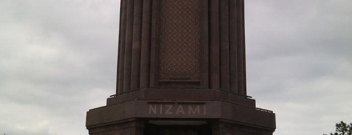 Nizami Məqbərəsi / Nizami Mausoleum is one of Lugares favoritos de Nail.