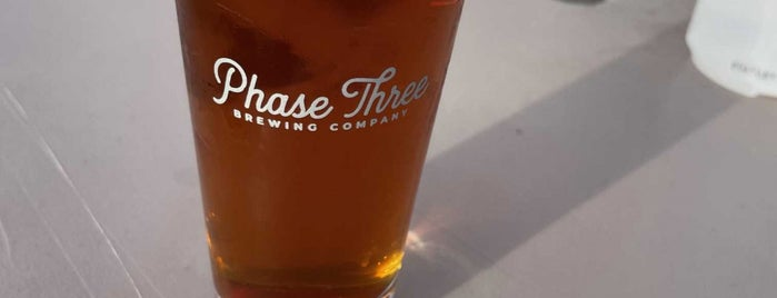 Phase Three Brewing is one of Chi town.