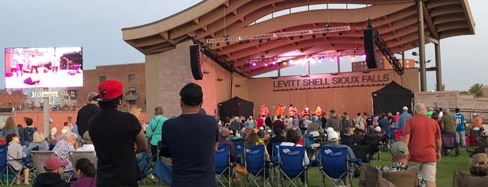 Levitt Shell is one of Top Things to do in Sioux Falls.