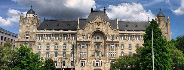 Four Seasons Hotel Gresham Palace Budapest is one of Condé Nast Traveler Platinum Circle 2013.
