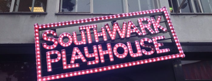 Southwark Playhouse is one of Tempat yang Disukai Tamas.