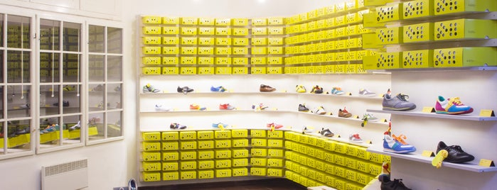 BOTAS 66 store is one of Prague.