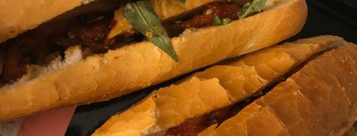Bánh mì vỉa hè cầu Trường Tiền is one of vietnam.