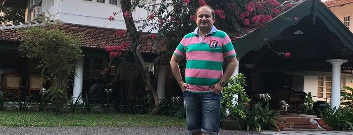 Kerala Kathakali Center is one of สถานที่ที่บันทึกไว้ของ Scott.