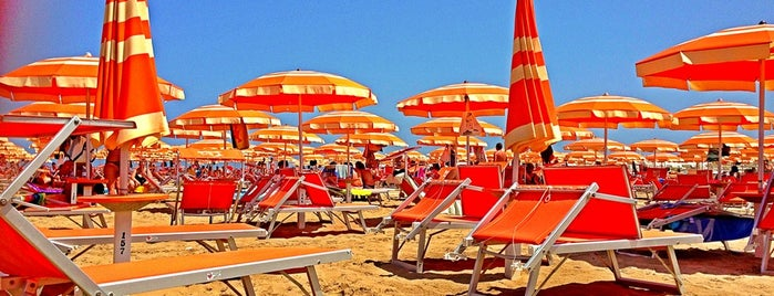 Rimini Beach is one of Rimini.