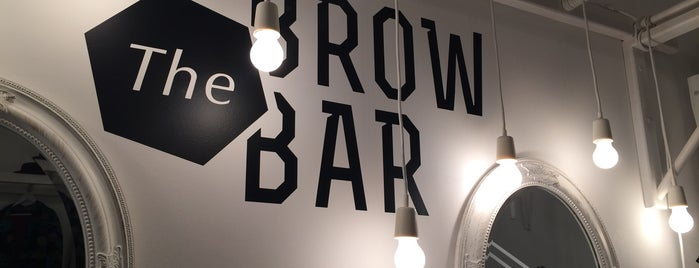 The Brow Bar is one of Lieux qui ont plu à Lada.