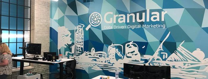 Granular is one of Lieux qui ont plu à Joe.