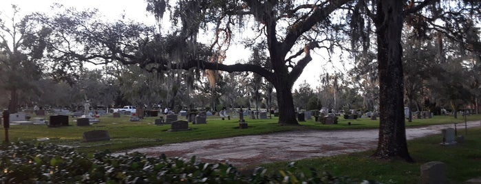 Palm cemetary is one of Orlando City Badge - The City Beautiful.
