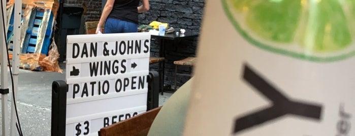 Dan and John's Wings is one of Drinks.