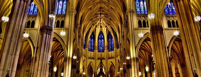 St. Patrick's Cathedral is one of Tuesday 3/10/2020.