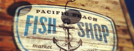 Pacific Beach Fish Shop is one of Gespeicherte Orte von Noah.