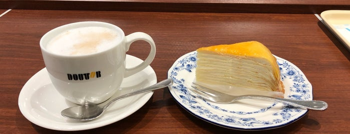 Doutor Coffee Shop is one of Tempat yang Disukai Chieko.