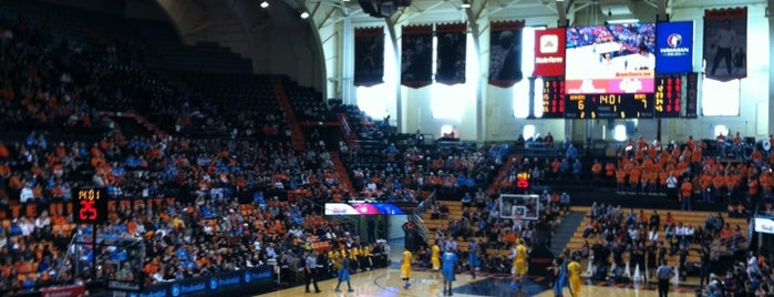 Gill Coliseum (OSU) is one of dos....