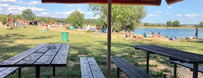 Na pláži u Jezera is one of Travel - CR.