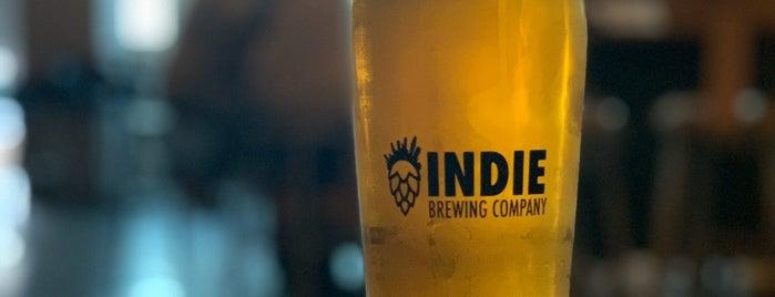 Indie Brewing Company is one of Maki'nin Kaydettiği Mekanlar.