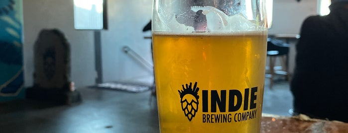 Indie Brewing Company is one of Maki 님이 저장한 장소.