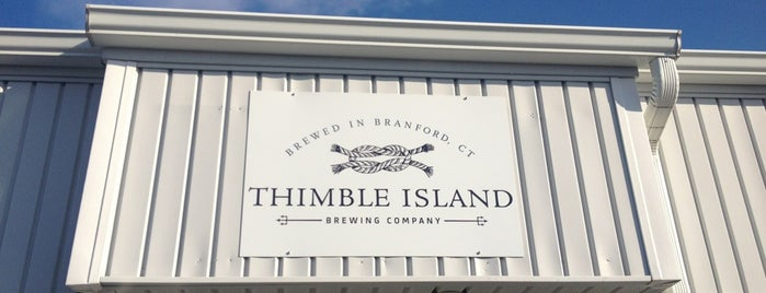 Thimble Island Brewing Company is one of New England Breweries.